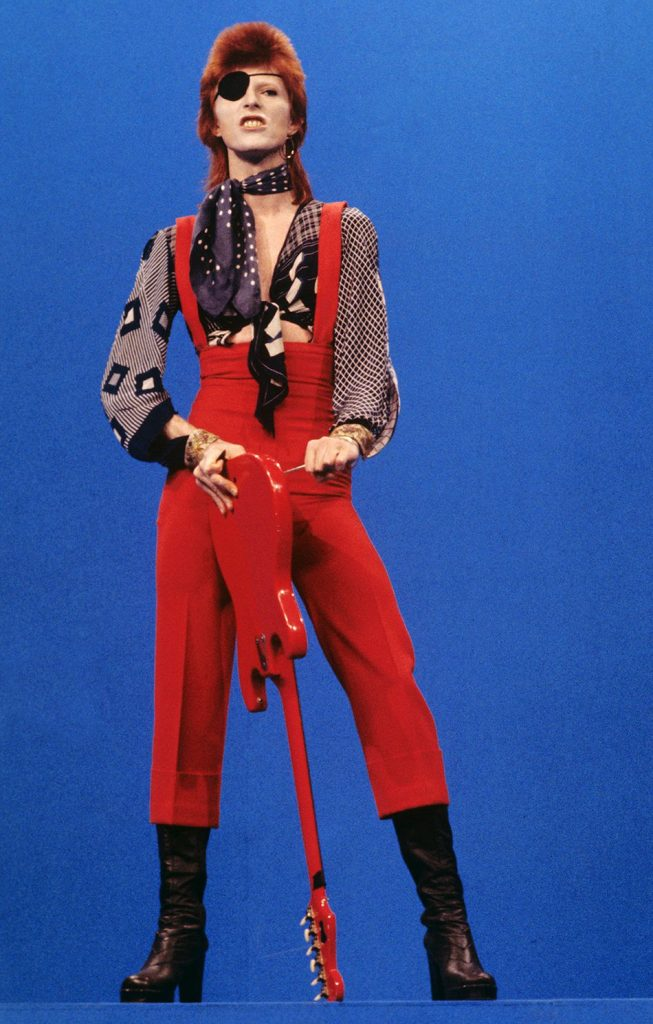 David Bowie's Ziggy Stardust phase.